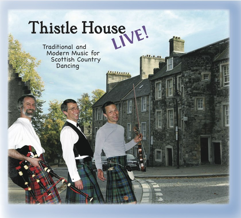 Cover of Thistle House Live! CD